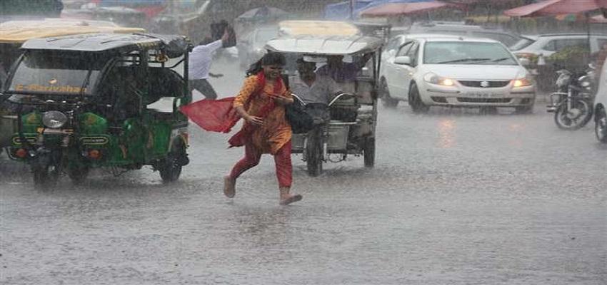 दिल्ली-एनसीआर में बारिश