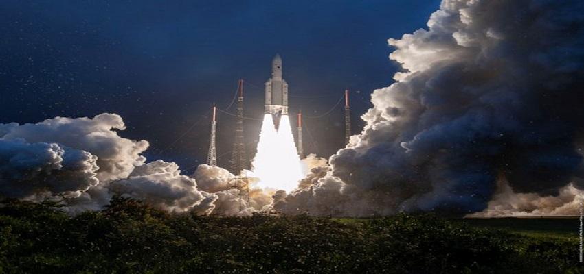 संचार उपग्रह GSAT-30 अंतरिक्ष में लॉन्च
