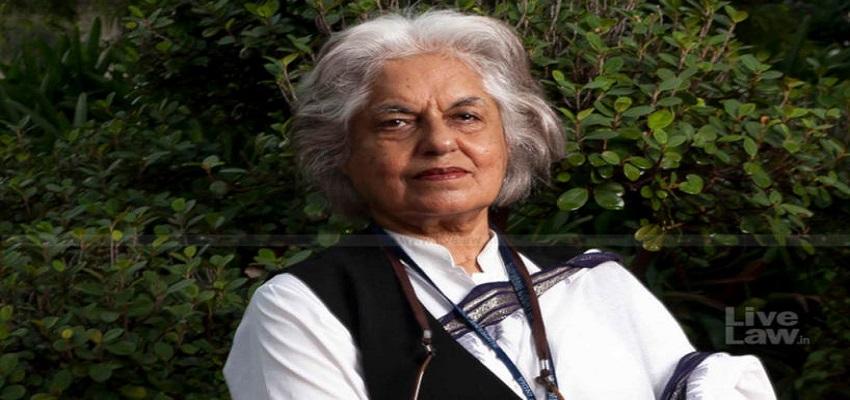वकील इंदिरा जयसिंह- सोनिया गांधी की तरह दोषियों को माफ कर दें