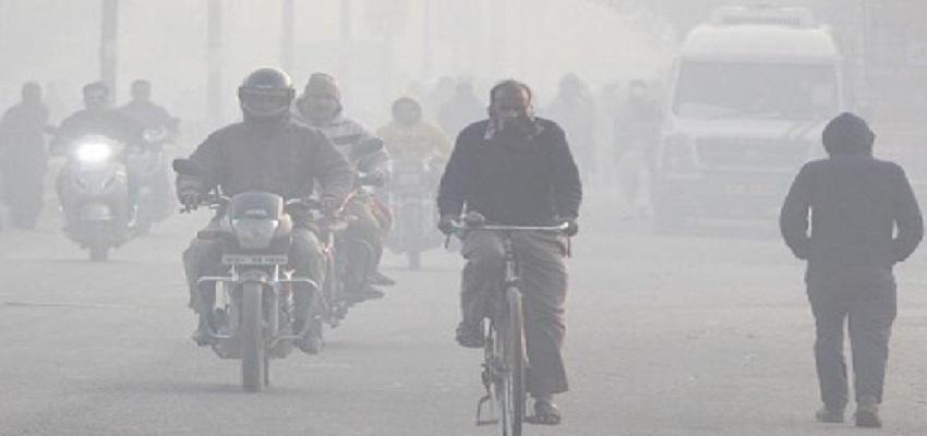 दिल्ली- NCR में छाया घना कोहरा
