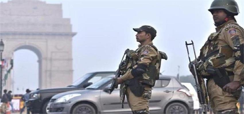 गणतंत्र दिवस- दिल्ली में आसमान से लेकर जमीन तक कड़ी सुरक्षा