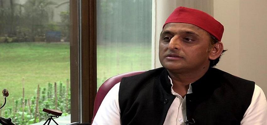 अखिलेश यादव का CM योगी पर निशाना