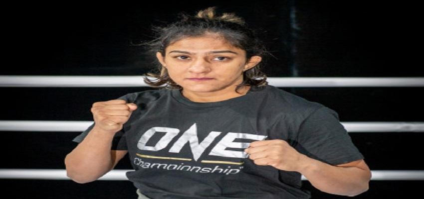 पहली भारतीय मिश्रित मार्शल आर्ट विश्व चैंपियन बनने पर रितु की निगाह