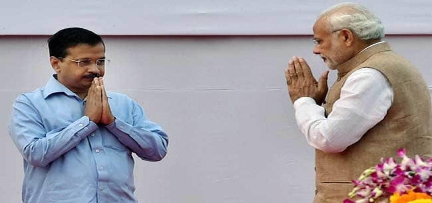 PM मोदी ने अरविंद केजरीवाल को सीएम बनने की दी बधाई