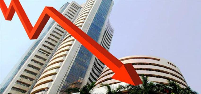 Stock market crash: सेंसेक्स और निफ्टी धड़ाम, निवेशकों के पांच लाख करोड़ रुपये डूबे, जानिए आखिर क्यों?