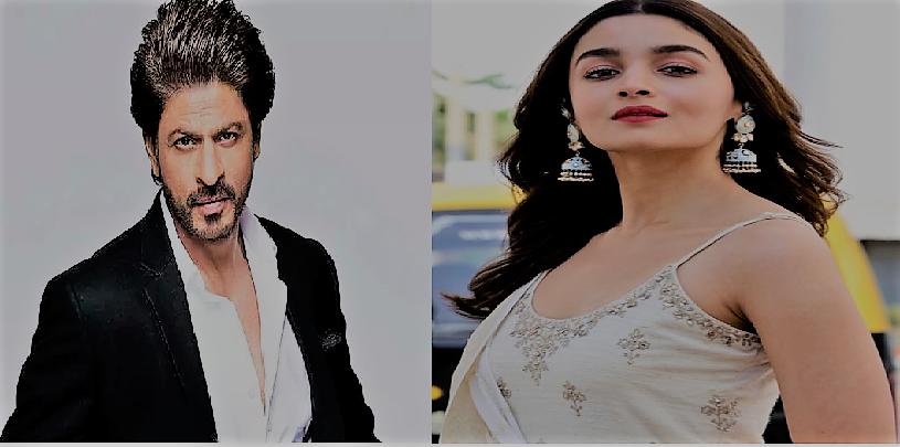 Shahrukh khan and alia bhatt will together in movie:  एक बार फिर 'शाहरुख खान' संग 'आलिया भट्ट' कर सकती है फिल्म में काम
