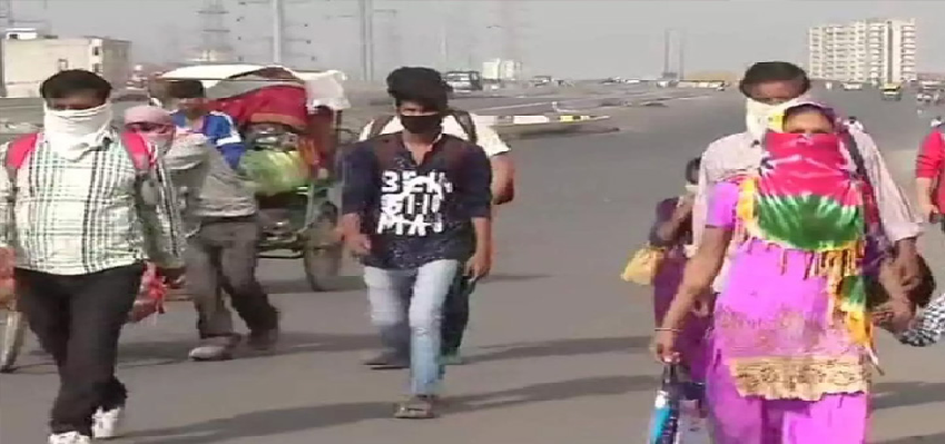 Workers Coming In Lockdown: लॉकडाउन में मजदूरों की घर वापसी शुरू, राज्य सरकारें मजदूरों को घर वापसी के लिए कर रहीं प्रबंध