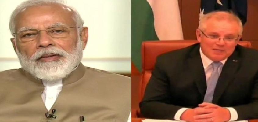 India-Australia Virtual Summit : भारत और ऑस्ट्रेलिया के बीच 7 समझौते और 2 घोषणाएं, मॉरिसन ने कहा- मुश्किल वक्त में भारत ने खुद को साबित किया
