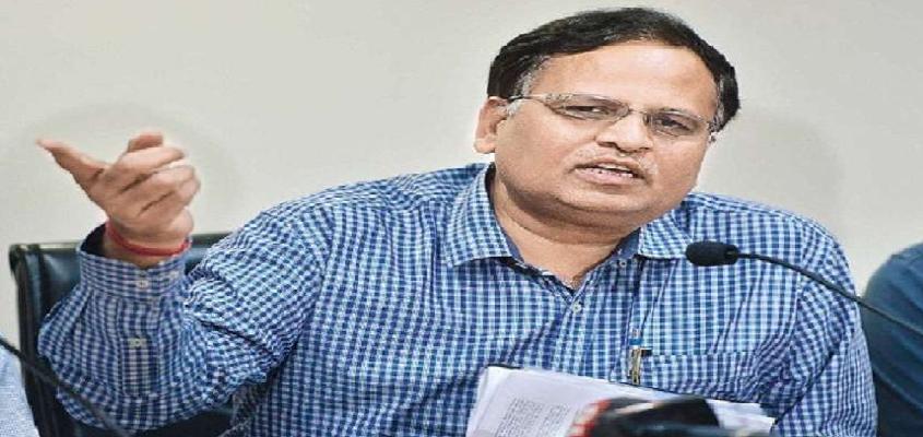 Satyendra Jain on Corona Crisis In Delhi : आरएमएल हॉस्पिटल ठीक समय पर कोरोना रिपोर्ट नहीं देता और गलत टेस्ट करता है : सत्येंद्र जैन