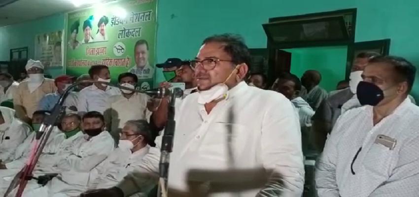 Abhay Chautala Attack On Haryana Govt: जेजेपी-बीजेपी सरकार पर बरसे अभय चौटाला, सरकार ने एक भी वादा नहीं किया पूरा