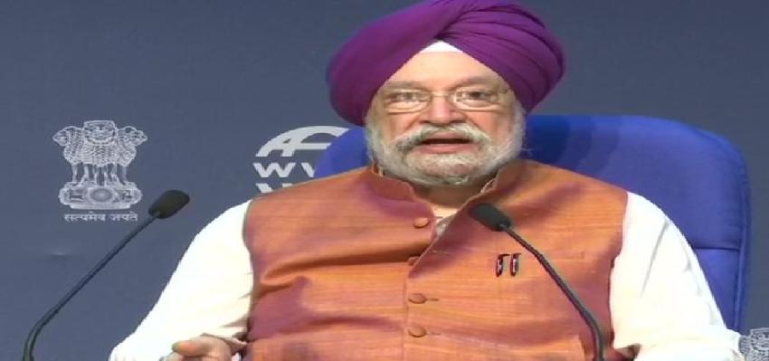 Hardeep Puri Press Conference: दीपावली तक 60 प्रतिशत घरेलू उड़ानें होगी शुरू, एयर इंडिया के निजीकरण पर सोच रही सरकार- हरदीप पुरी
