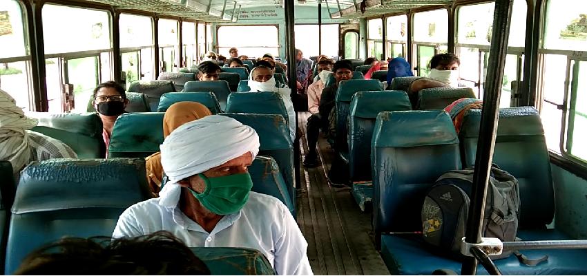 Haryana Roadways Bus: रक्षाबंधन पर दौड़ रही हरियाणा रोडवेज बसें, महिलाओं से वसूला जा रहा किराया