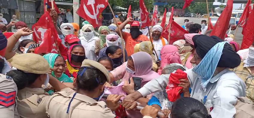 Punjab Protest: पंजाब में भारत बचाओ संविधान बचाओ मुद्दे को लेकर रोष प्रदर्शन, विभिन्न संगठनों ने लिया भाग