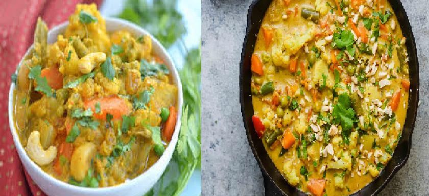 Vegetable Korma Recipe :  घर में आसान विधि से बनाए स्वादिष्ट 'वेजिटेबल कोरमा', जानें रेसिपी