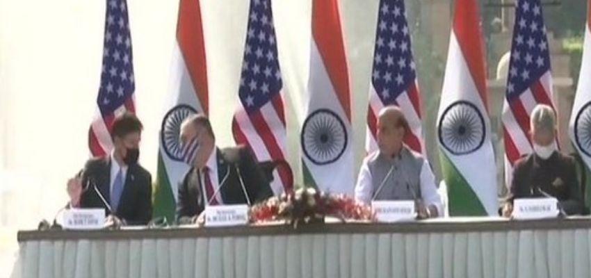 INDIA AND AMERICA: जानें भारत और अमेरिका के बीच 2+2 वार्ता में क्या कुछ हुआ