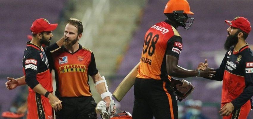 IPL2020:  खत्म हुआ RCB का सफर, हैदराबाद को मिली जीत