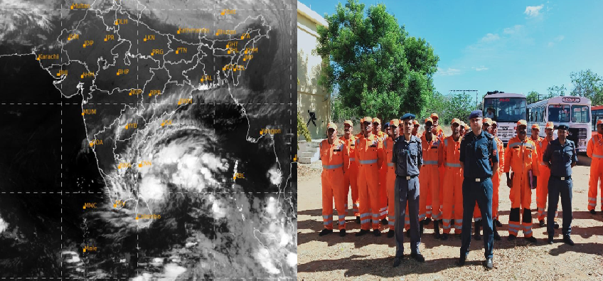 Cyclone Nivar : तमिलनाडु में मंडरा रहा है चक्रवाती तूफान 'निवार' का खतरा, एनडीआरएफ टीमें हुई सतर्क
