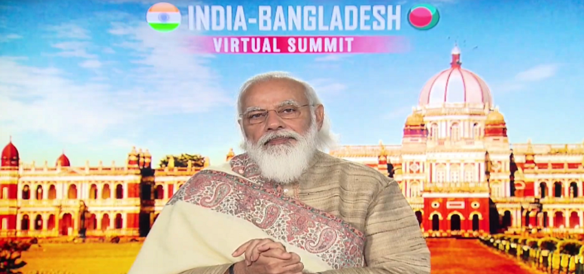 PM MODI: आभासी द्विपक्षीय शिखर सम्मेलन PM मोदी का संबोधन, कहा-महामारी के दौरान भारत-बांग्लादेश संबंध अच्छे रहे हैं