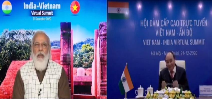 PM MODI: आभासी द्विपक्षीय शिखर सम्मेलन  में PM मोदी  का संबोधन,कहा-वियतनाम भारत की एक्ट ईस्ट पॉलिसी का महत्वपूर्ण स्तंभ है