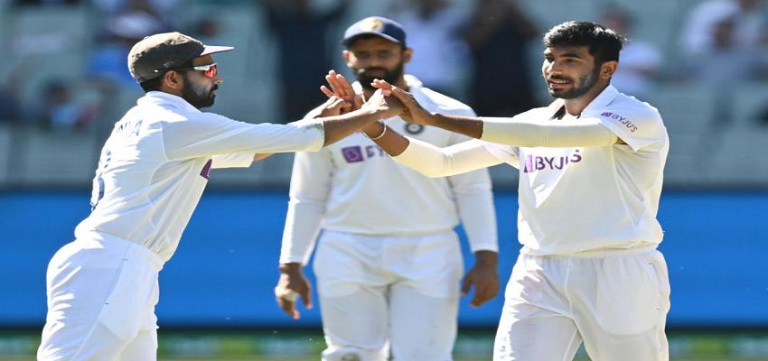 IND VS AUS: पहले दिन का खेल खत्म, ऑस्ट्रेलिया 195 रनों पर सिमटी, भारत ने बनाए 36 रन