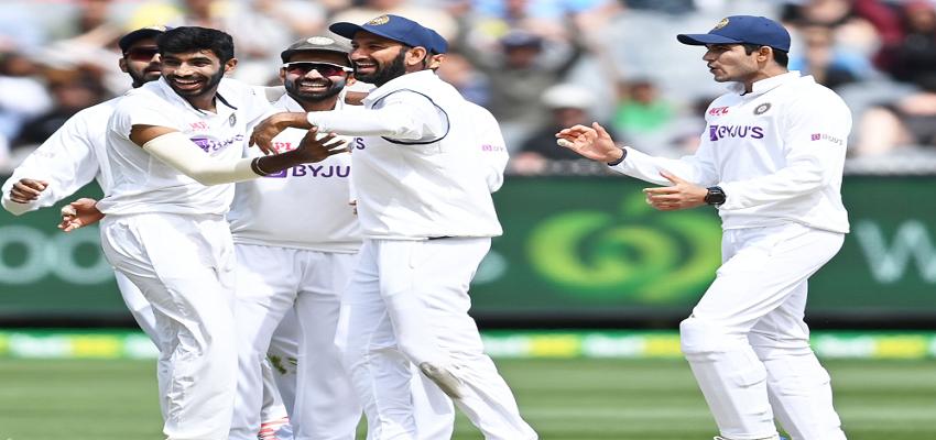 IND VS AUS: जीत की दहलीज पर भारत, 4 विकेट दूर