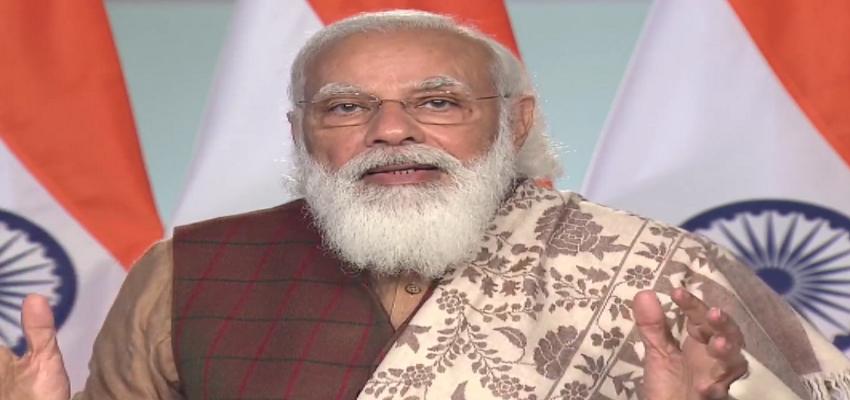 PM MODI: प्रवासी भारतीय सम्मेलन  में PM मोदी का संबोधन, कहा- भारत की चर्चा पूरे विश्व में हो रही है