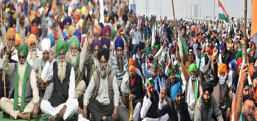 FARMER PROTEST: देश के अन्नदाताओं का आंदोलन जारी, गाजीपुर और चिल्ला बॉर्डर को किया  गया बंद