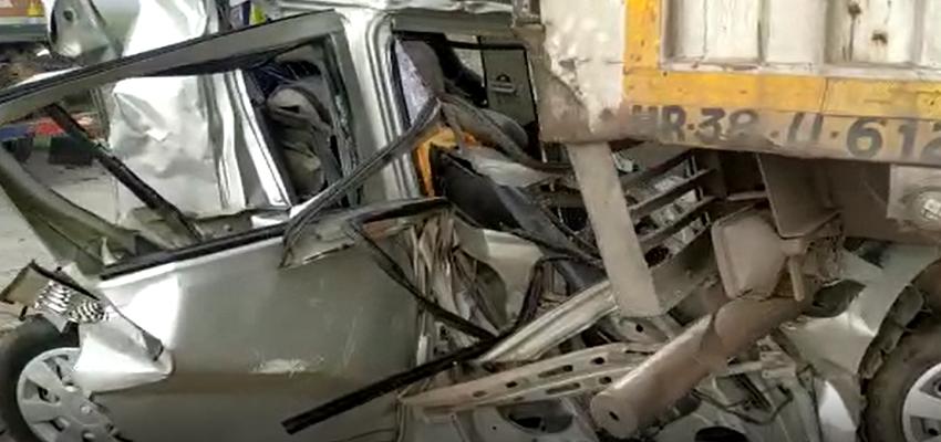 Ghaziabad Accident: ईस्टर्न पेरीफेरल हाईवे पर 24 गाड़ियां आपस में टकाराई, दिल्ली पुलिस के कांस्टेबल की मौत