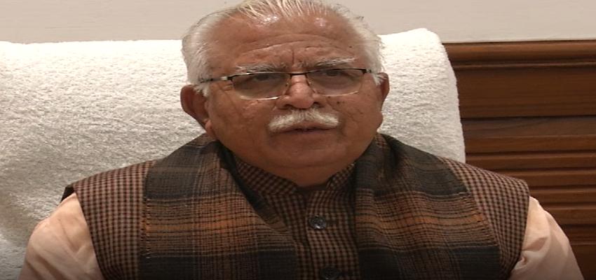 Haryana: टीकाकरण अभियान पर CM मनोहर लाल ने जनता को दिया संदेश, जानें
