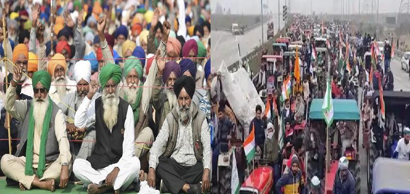 KISAN PROTEST: किसानों का आंदोलन जारी, आगे की रणनीति को लेकर किसानों की चर्चा आज