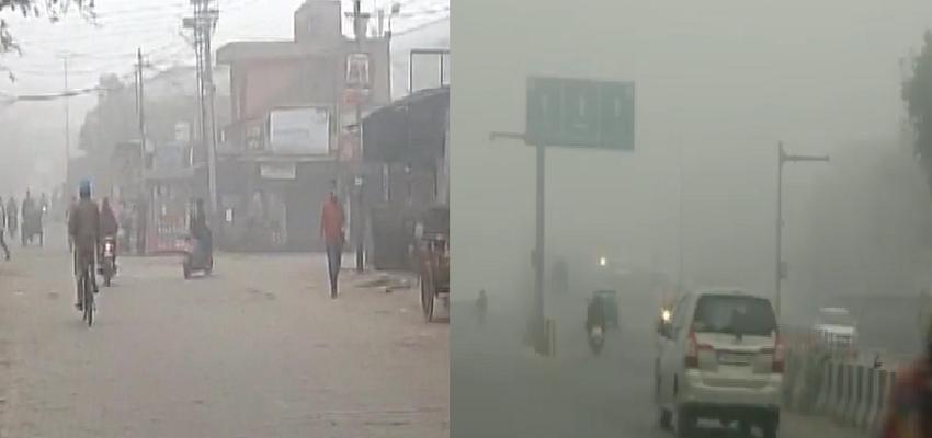 WEATHER : पूरे उत्तर भारत में ठंड और शीत लहर का कहर, 4 डिग्री तक गिर सकता है दिल्ली का तापमान