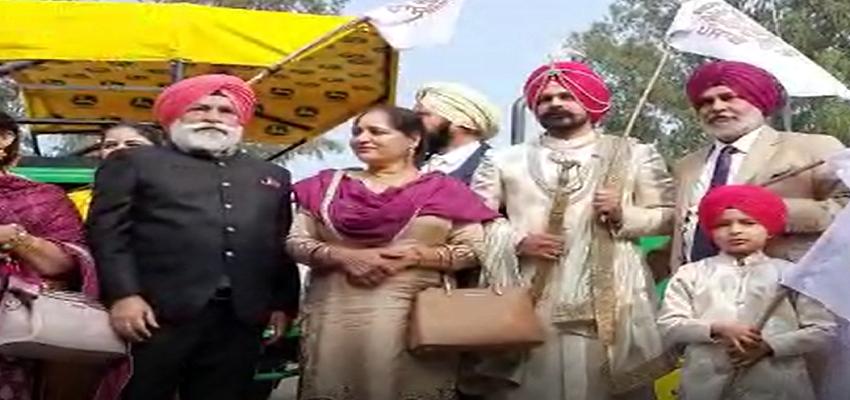 Punjab: पंजाब की शादियों में चढ़ा किसानी संघर्ष की लहर का रंग