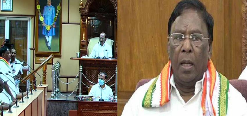 Puducherry: कांग्रेस के हाथ फिसला एक और राज्य, पुडुचेरी में गिरी सरकार
