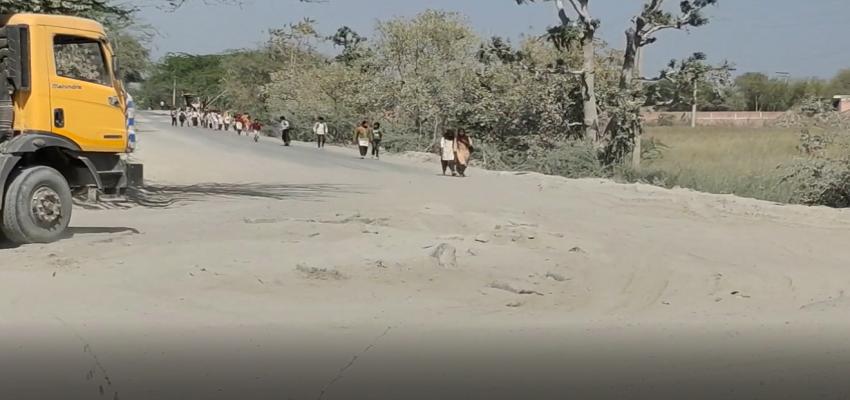 Haryana: विकास पुरुष के गृह क्षेत्र में मौत का साया, जान हथेली पर रख शिक्षा ग्रहण करते है ननिहाल