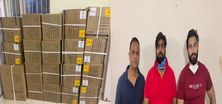DELHI CRIME: ऑक्सीजन कंसंट्रेटर की कालाबाजारी करने वालों गिरोह पर यमदूत बनी दिल्ली पुलिस
