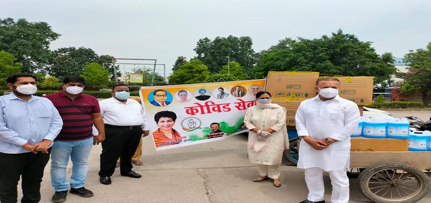 Haryana: लोगों की सेवा के लिए आगे आए कांग्रेस के विधायक, SDM को सौंपी राहत सामग्री