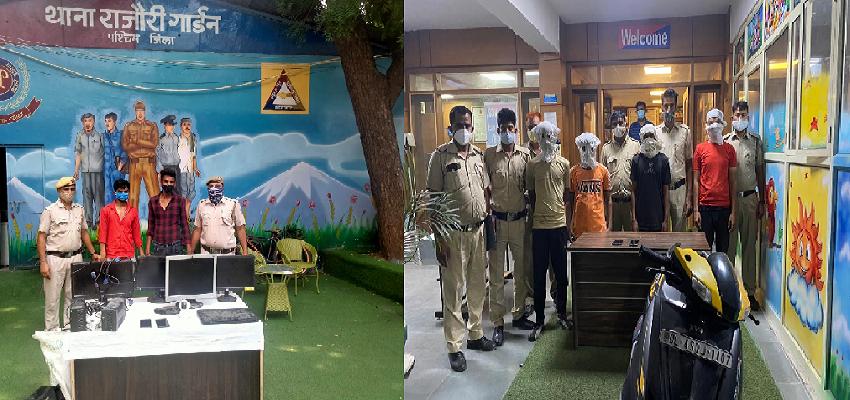 Delhi Crime : दिल्ली पुलिस को मिली बड़ी सफलता, चोरी करने वाले गिरोह के 5 सदस्य गिरफ्तार