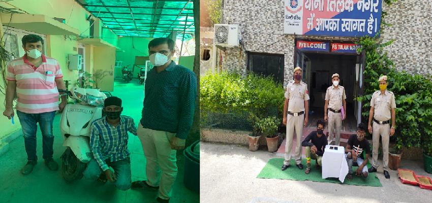 Delhi crime: दिल्ली पुलिस की गिरफ्त में तीन सक्रिय अपराधी