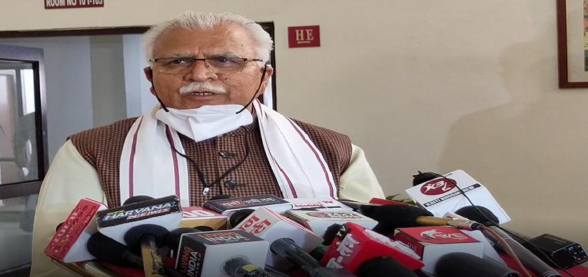 Haryana: किसान नेताओं को पंजाब में चुनाव लड़ लेना चाहिए, किसान आंदोलन राजनीति से प्रेरित है-सीएम मनोहर लाल