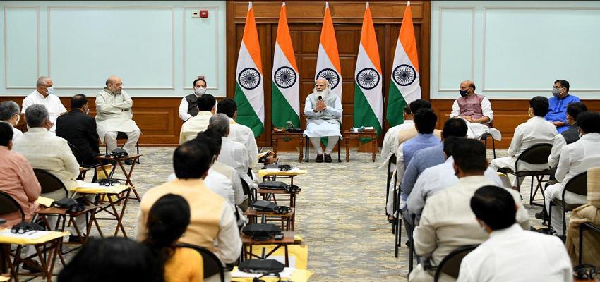 MODI CABINET:  मोदी कैबिनेट का विस्तार, 43 नए नेताओं की लिस्ट हुई जारी