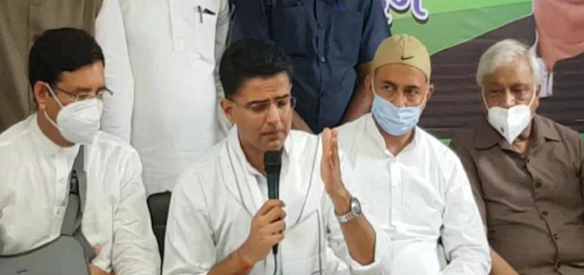 Uttarakhand: कांग्रेस के वरिष्ठ नेता सचिन पायलट पहुंचे देहरादून, महंगाई के खिलाफ भाजपा सरकार पर किया अटैक