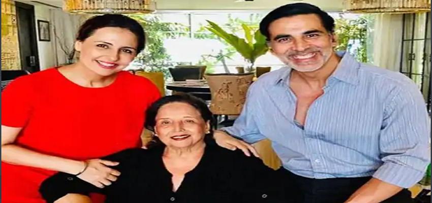 अक्षय कुमार की मां अरुणा भाटिया का निधन, भावुक हुए अभिनेता
