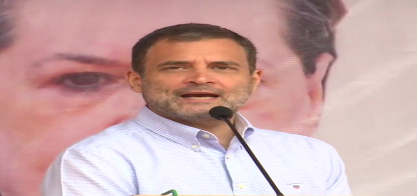 JAMMU AND KASHMIR:  बीजेपी सच्चाई से डरती हैं.... भाजपा डर है- राहुल गांधी