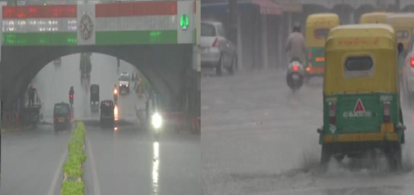 Delhi rain: दिल्ली में आज सिर्फ पानी...पानी...बारिश का येलो अलर्ट जारी