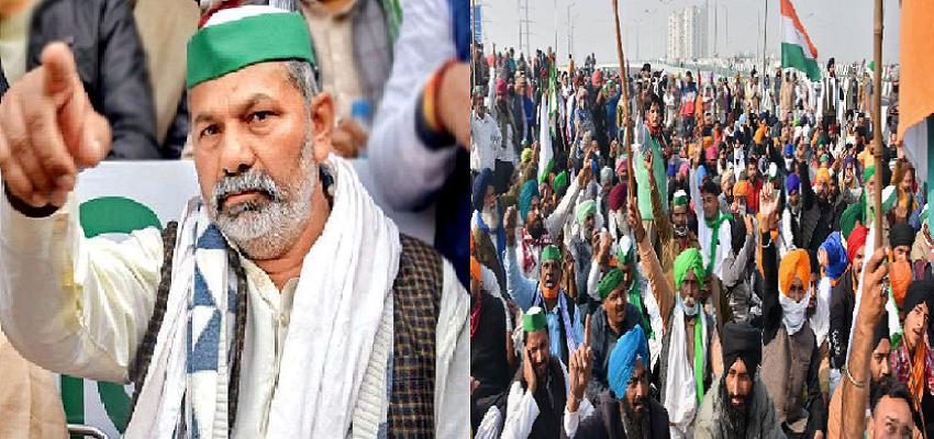 FARMERS PROTEST: दिल्ली में आंदोलन जारी, राकेश टिकैत ने असदुद्दीन ओवैसी को कहा भाजपा की B टीम