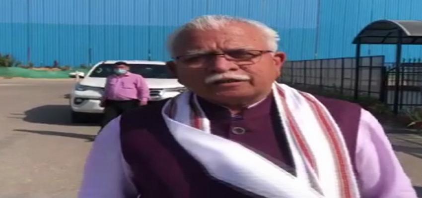दिल्ली दौरे पर हरियाणा के मुख्यमंत्री मनोहर लाल, गुरुग्राम में बनेगा हेली हब