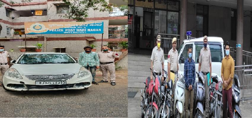 Delhi Crime: पुलिस की गिरफ्तर में एक शातिर चोर और शराब मफिया