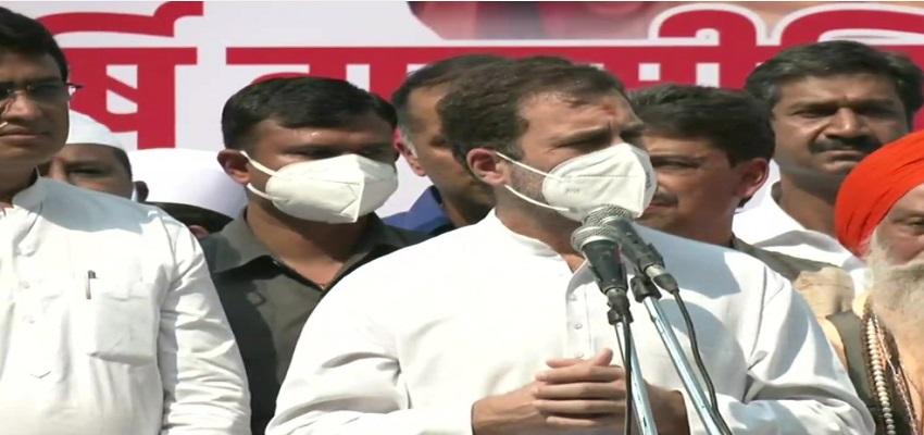 वाल्मीकि जयंती पर राहुल गांधी ने लोगों को संबोधित किया, कहा- दलित समाज को बनाया जा रहा निशाना