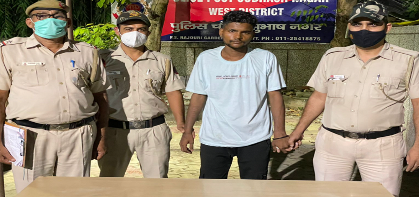 Delhi Crime: बर्जुग से छीना फोन, चढ़ा पुलिस के हत्थे